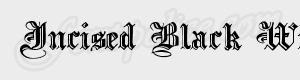 ancien Incised Black Wide ttf