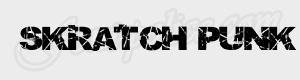 ancien Skratch Punk ttf