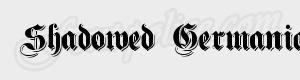 gothique Shadowed Germanica ttf