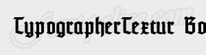 gothique TypographerTextur Bold ttf