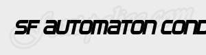 carre SF Automaton Condensed Oblique ttf