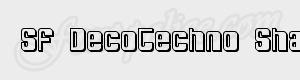 epais SF DecoTechno Shaded ttf