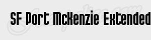 haute SF Port McKenzie Extended Bold ttf