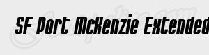 haute SF Port McKenzie Extended Bold Italic ttf