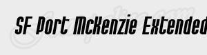 haute SF Port McKenzie Extended Italic ttf
