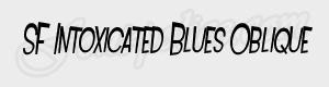 penche SF Intoxicated Blues Oblique ttf