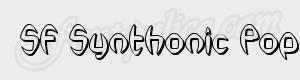 arrondi SF Synthonic Pop Shaded ttf