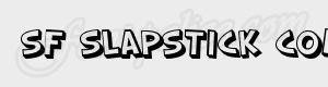 desequilibre SF Slapstick Comic Shaded ttf