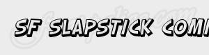 desequilibre SF Slapstick Comic Shaded Oblique ttf