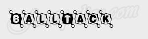 cadre BallTack ttf