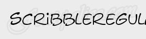 graf scribbleregular ttf