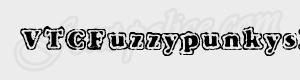 grunge VTCFuzzypunkyslippers ttf