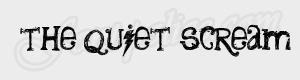 grunge the quiet scream ttf