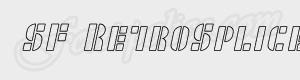 morceaux SF RetroSplice SC Outline ttf