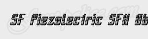 strie SF Piezolectric SFX Oblique ttf